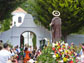 San Isidro returns to his chapel at the nerja caves