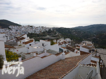 Overlooking frigiliana