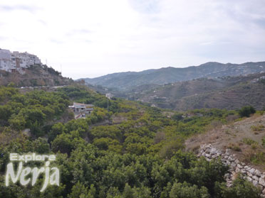 frigiliana to Nerja